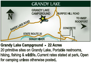 Grandy Lake Location