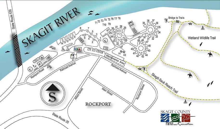 Howard Miller Steelhead Park: Rockport State Park Map At Codeve.org