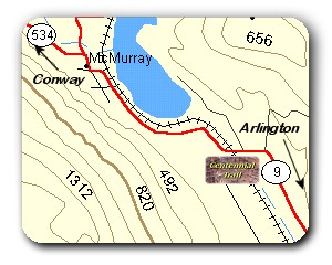 Centennial Trail Location Map